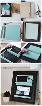 diy gifts for teens tablet holder from a picture frame cool ideas for girls