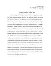 sundiata an epic of old response ashleigh castin dr 4 pages sundiata an epic of old