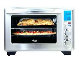details about stainless steel digital french door convection oven extra large oster manual