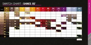 Shines Xg Color Chart Sbiroregon Org