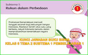 Subtema 1 cara tubuh mengolah udara bersih. Kunci Jawaban Buku Siswa Kelas 6 Tema 2 Subtema 1 Halaman 2 3 4 5 6 Sanjayaops