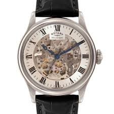 view all timepieces from rotary watches rotary stainless steel skeleton watch