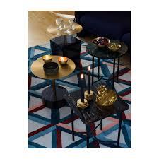 Gold - Table d'appoint carrée - Marbre - Doré - Habitat