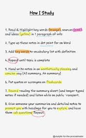 Best 20 Revision Techniques Ideas On Pinterest Revision Tips