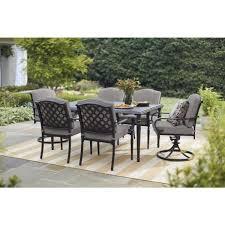 hampton bay outdoor patio table with