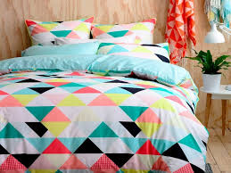 bright duvet covers king home design ideas