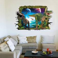 wholesale 3d dinosaur wall stickers home decor wall sticker for kids rooms home decoration wallpaper wall decals wall lettering decals wall motifs from  on dinosaur bedroom wall stickers with wholesale 3d dinosaur wall stickers home decor wall sticker for kids