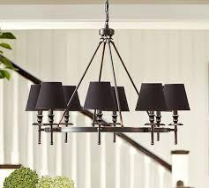 collins chandelier bronze
