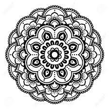Henna Pattern Mesmerizing Indian Henna Tattoo Pattern Or Background Mehndi Design Royalty