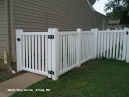 white fence ideas. Outstanding Fences Composite Vinyl Or Aluminum White Picket Fence Ideas D