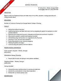 Registered Nurse Student Resume Mesmerizing Sample Resume Of Student Sample Nursing Student Resume Student