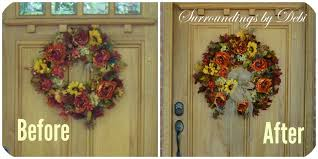 fall office decorating ideas. fall porch decor a warm welcome surroundings by debi i used mesh ribbon for the accents office decorating ideas r