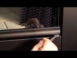 installation of bi fold glass doors for