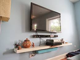 hiding messy television cable wires