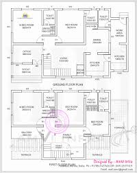 mail floorplan. Kerala Home Plans Sq Ft Inspirational House Six Bedroom Split . With Two Master Mail Floorplan E
