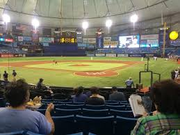 Tropicana Field Seating Chart View Tropicana Field Section 103 Row T Seat 7 8 Tampa Bay