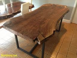 walnut dining room table unique interesting design live edge dining tables impressive handmade live