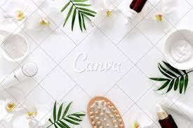 Spa Background Design Spa Background With A Space For A Text Photos By Canva