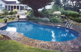 In ground pools Hidden Cannon Pools And Spas Inground Pools Mountain Lake Cannon Pools Mountain Lake Shaped Inground Pools Cannon Pools And Spas
