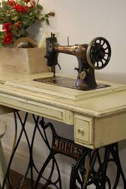 Antique Jones Treadle Sewing Machine