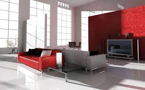 Red And Gray Living Room Superb Modern Living Room Design With Opposite Red Gray Couch
