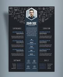 ... Creative Resume A Good Resume Template Maker Create Professional Resumes  Free Creative Cv Designtemplate Psd F ...
