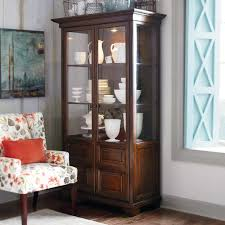 Corner Kitchen Curio Cabinet Arbor Downs Wood Curio Cabinet Shelves Products And Doors