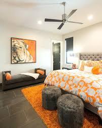 orange and gray bedding grey white navy blue