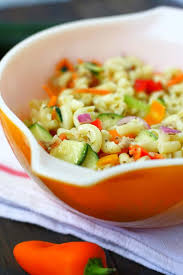 Simple Macaroni Salad Recipe Without Mayo The Pretty Bee