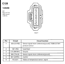 where is the maf iat sensor on an f250 triton v10 2002 full size image