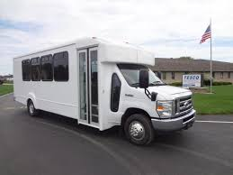 goshen coach impulse bus a ford e450 chassis bus picture