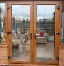 pvc double patio doors ideas