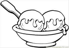 Small Picture Sweet Ice Cream Coloring Page Free Desserts Coloring Pages