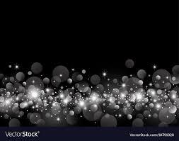 White Light Bokeh On Black Background Design