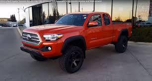 2016 Toyota Tacoma Access Cab TRD Off Road with Lift kit Review ...