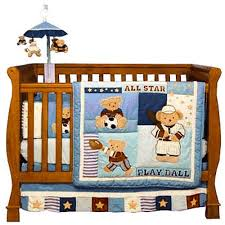 kidsline play ball 6 piece crib bedding set