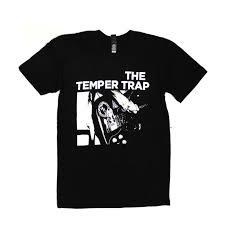 Temper Trap Eye Chart Shirt Temper Trap Temper Trap Official Merchandise
