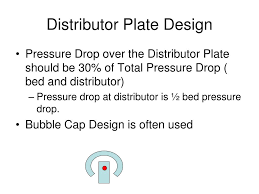 Distributor Plate Design Ppt Fluid Bed Reactors Powerpoint Presentation Free