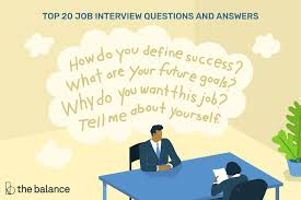 Hr Assistant Interview Questions Top 20 Common Job Interview Questions And Answers