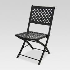 Woven metal furniture Patio Chairs Woven Metal Folding Patio Chair Threshold Brickseek Woven Metal Folding Patio Chair Threshold Brickseek
