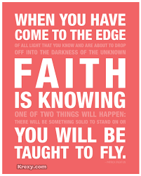 Quotes On Faith Delectable Faith Picture Quotes Faith Is Knowing Krexy Living