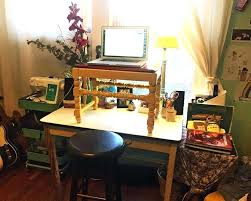 Home office standing desk Tall Wood Standing Desk Home Office Home Standing Desk Makeshift Standing Desk In Home Office Home Studio Standing Wayfair Standing Desk Home Office Home Standing Desk Makeshift Standing Desk