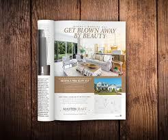 Real Estate Hoarding Design Samples Mastercraft Magazine Ad Design Print Collateral Ad