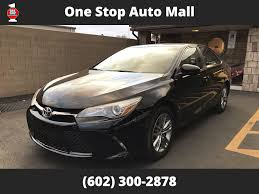 2015 Used Toyota Camry 2015 Toyota Camry SE Sedan at One Stop Auto ...