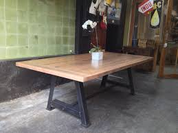 Industrial Dining Room Table Made In Melbourne Custom Sizes Available Worth Calling A Frame