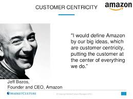 Jeff Bezos Quotes Classy 48 Quotes From Leaders On Customer Obsession Customer Culture And Cu