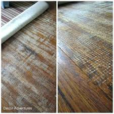 rug pads for hardwood floors floor damaged by backing pad