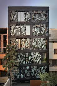 Cool Building Facades Featuring Unconventional Design Strategies - Modern apartment building facade