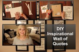 on diy inspirational quote wall art with diy inspirational wall of quotes kikiinthemiddle youtube