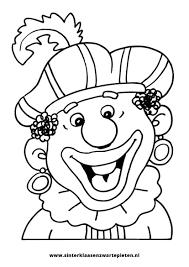 Verse Gratis Kleurplaten Sinterklaas Zwarte Piet Krijg Duizenden